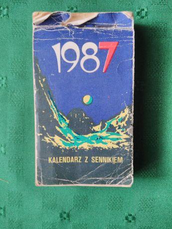 Kalendarz z sennikiem zdzierak 1987