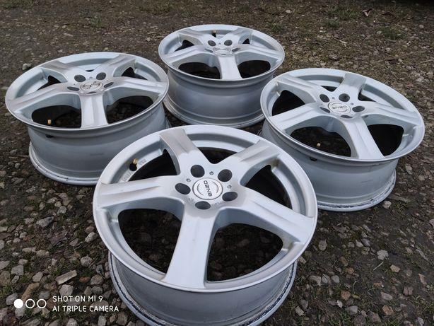 """Felgi aluminiowe 16"""" 5x100 VW POLO AUDI A1 A2 SKODA Rapid SCALA FABIA"""