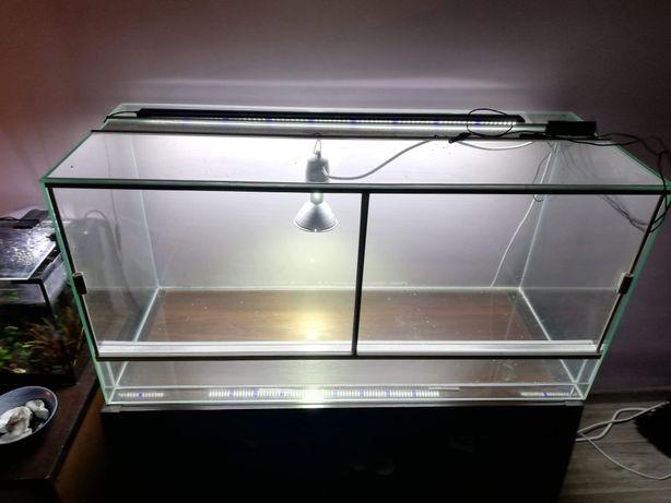 Pilnie. Terrarium szklane 100x50x40