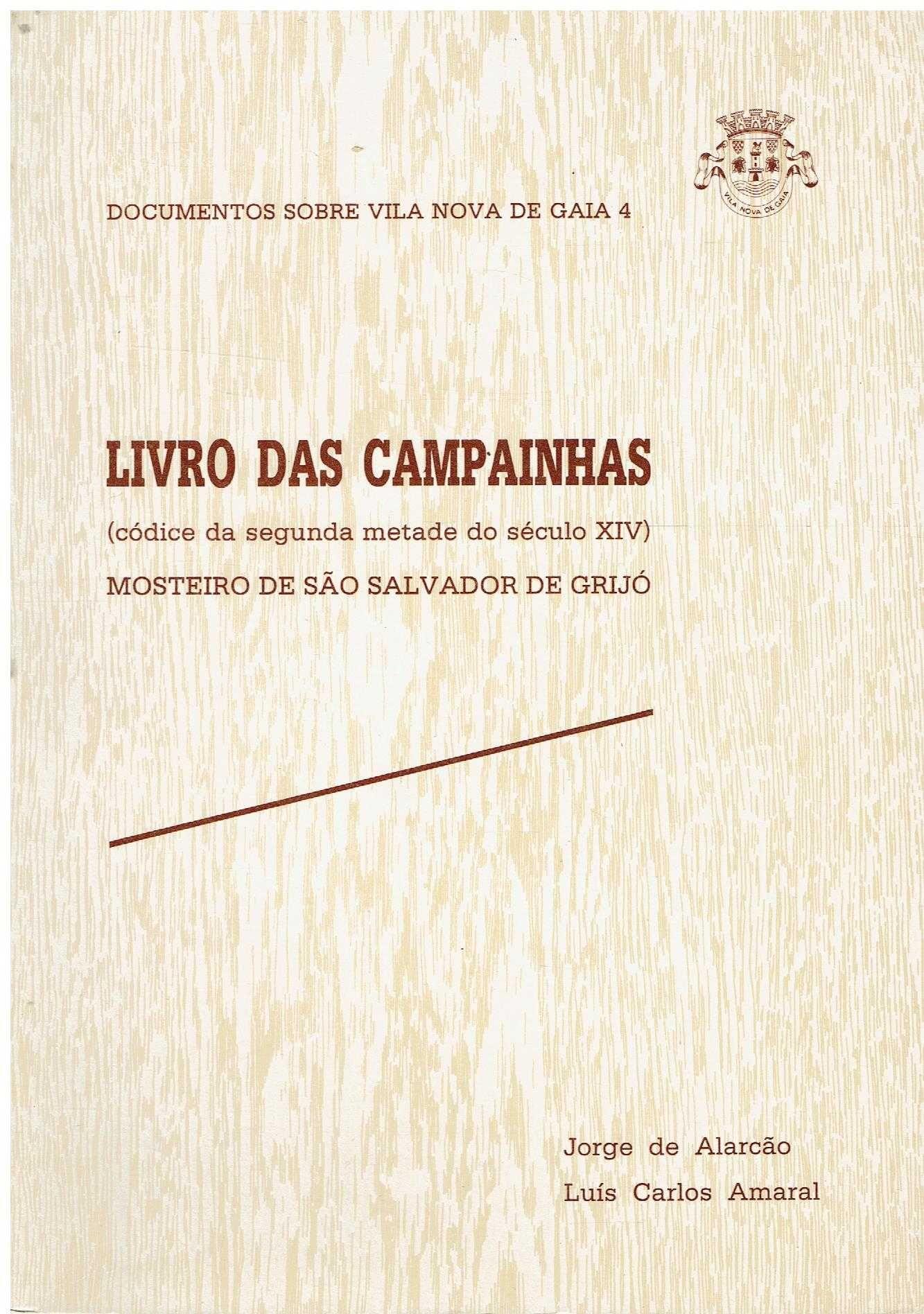 6723 - Livro das campaínhas/ Mosteiro de São Salvador de Grijó