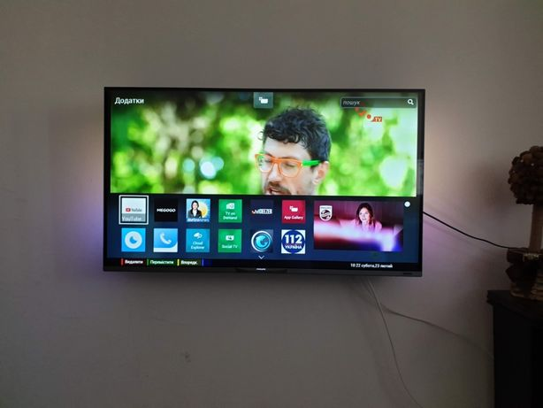 Телевізор Philips 42PUS7809 Ultra HD, 3D, DVB-T2, Wi-Fi, Smart TV