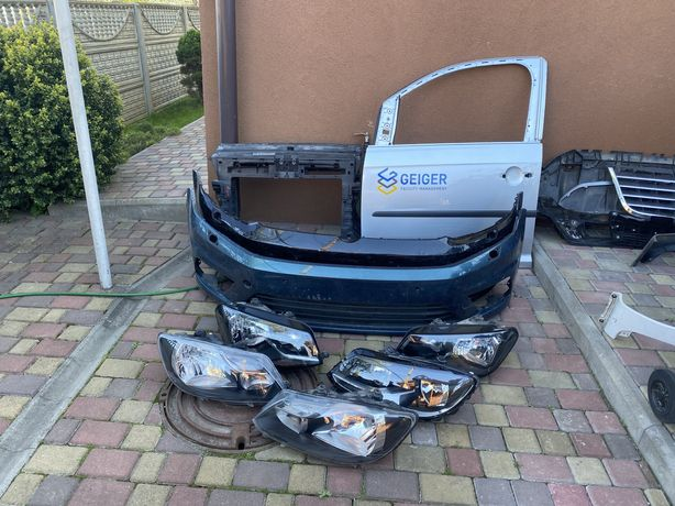 Бампер фара двері панель радіатор volkswagen Caddy touran кадік туран