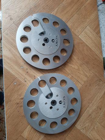 Szpule aluminiowe 18 cm do magnetofonu szpulowego !!