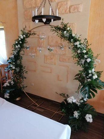 Dekoracje sal weselnych, dekoracja kościoła, dekoracje ślubne