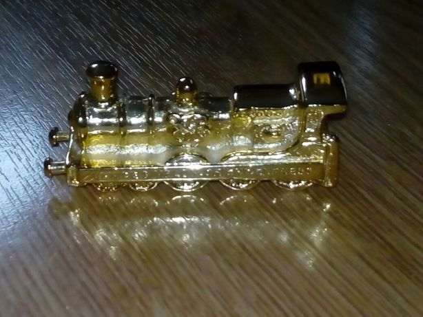 Orient Express lokomotywa mosiężna przycisk do papieru