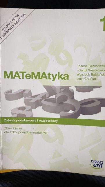 MATeMAtyka 1, zbiór zadan, zakres podstawowy i rozszerzony