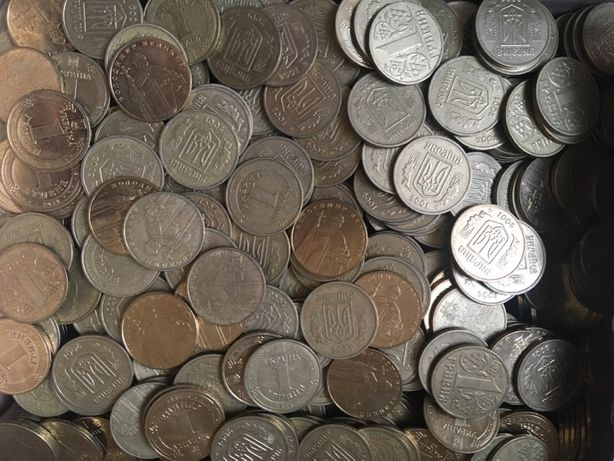 Набор монет 1 гривна