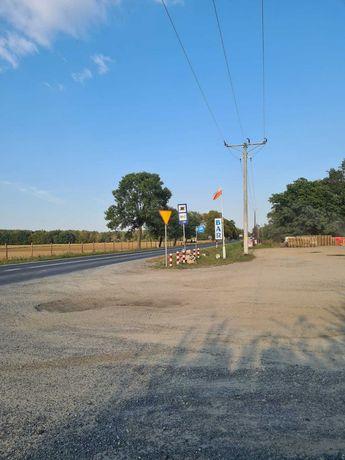 Miejsce na reklame droga nr.12 Glogow - Leszno