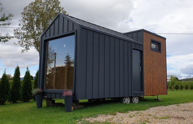 Domek mobilny. Tiny house. Domek letniskowy 16m2, 35m2. Rekreacyjny.