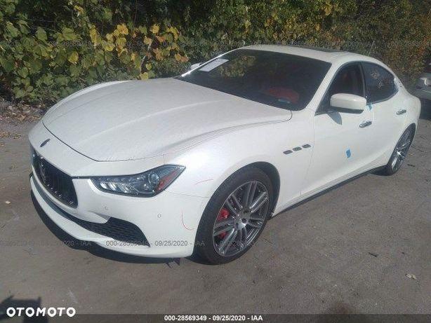 Maserati Ghibli SQ4 3.0 411KM * Pali Jeździ *Airbagi OK * Na miejscu, dostępne od ręki