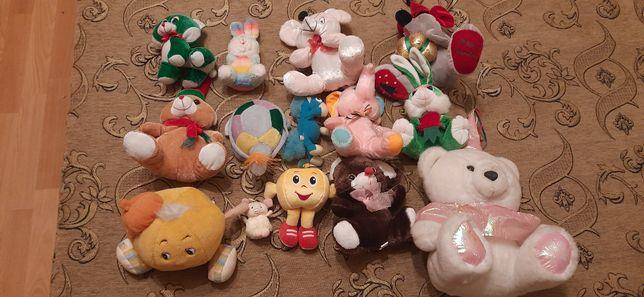 Мягкие детские игрушки (разные)
