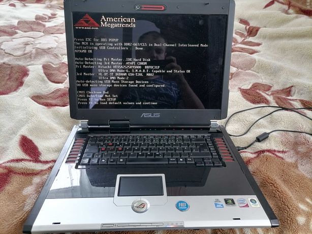 Ноутбук Asus  G2S