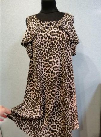 Лёгкое тигровое платье