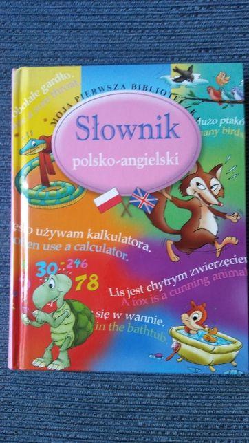 Słownik polsko-angielski obrazkowy Moja Pierwsza Biblioteczka