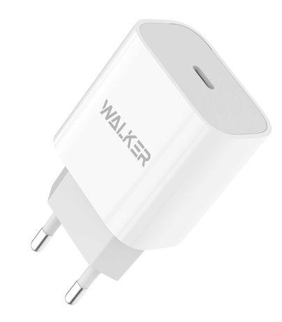 Сетевое зарядное устройство (адаптер) WALKER WH-39 PD / 3A / 20W white