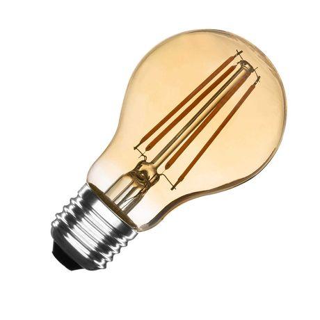 Conjunto 5 Lâmpadas Led Gold Decorativas