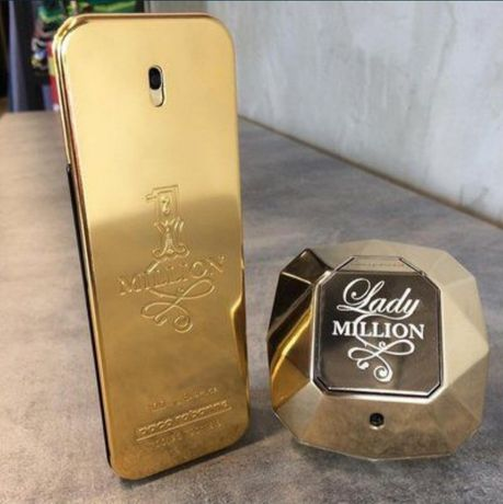 Духи мужские парфюмы духи женскиPaco Rabanne 1 million и Lady million/