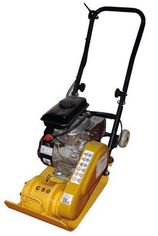 Placa Compactadora Máquina Compactar Solo a Gasolina