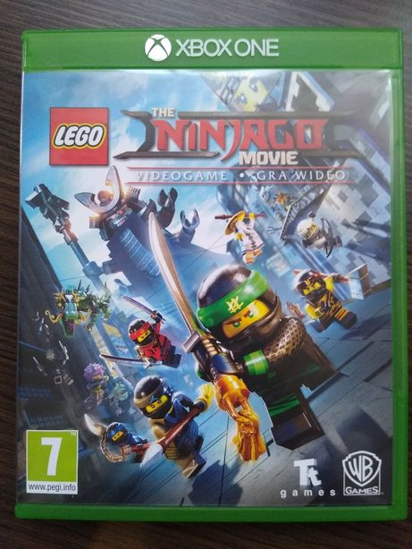 Gra Ninjago Xbox one Wersja Pl