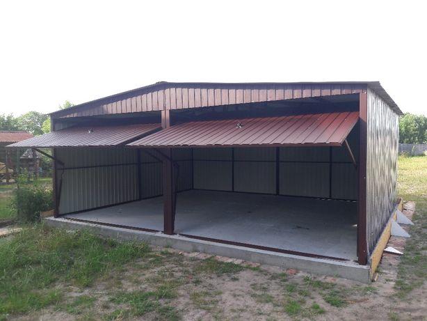 Garaże blaszane, garaż blaszany 6x5 całe blaszaki metalowe