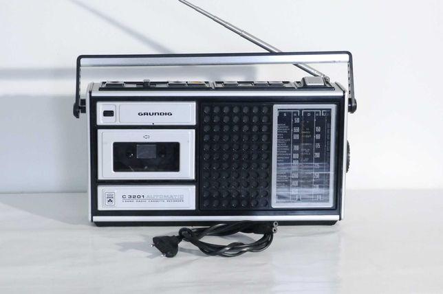 Radiomagnetofon Grundig C3201 Unitra ZRK