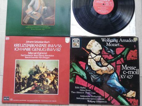 Muzyka sakralna Bacha i Mozarta - 4 winyle