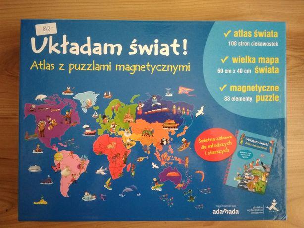 Układam świat puzzle magnetyczne Adamada