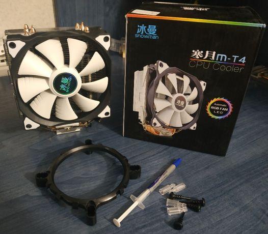 Кулер для процессора Snowman MT 4 Снеговик, TDP до 135W