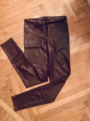 Кожаные лосины, штаны, брюки, джеггинсы, леггинсы из экокожи