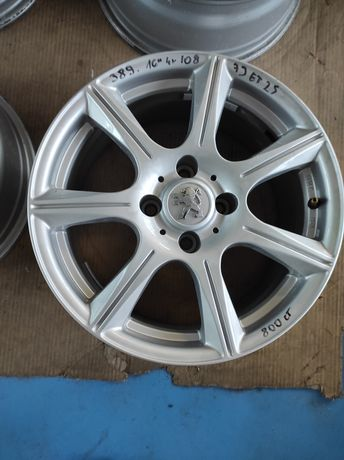 389 Felgi aluminiowe PEUGEOT R16 4x108