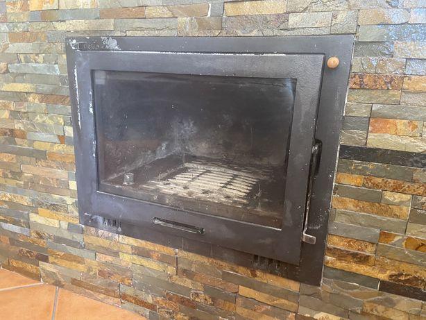 Recuperador de calor com 3 toneladas de lenha