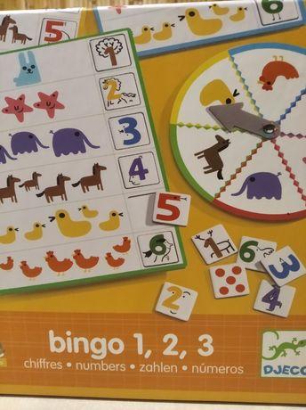Djeco bingo 1 ,2,3,