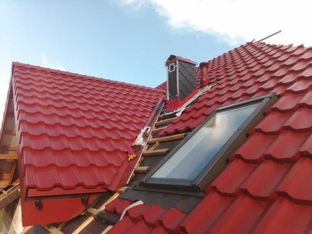 Naprawa dachów, usługi dekarskie, grzanie papy, naprawa kominów,