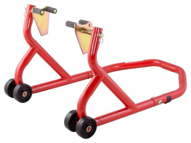 Cavalete mota rodas duplas