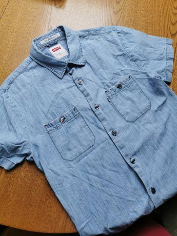 Koszula z krótkim rękawem levi's white tab