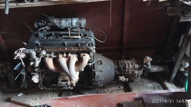 двигун 405 з коробкою кпп