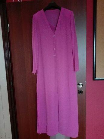 Sukienka długa z narzutką roz. 40