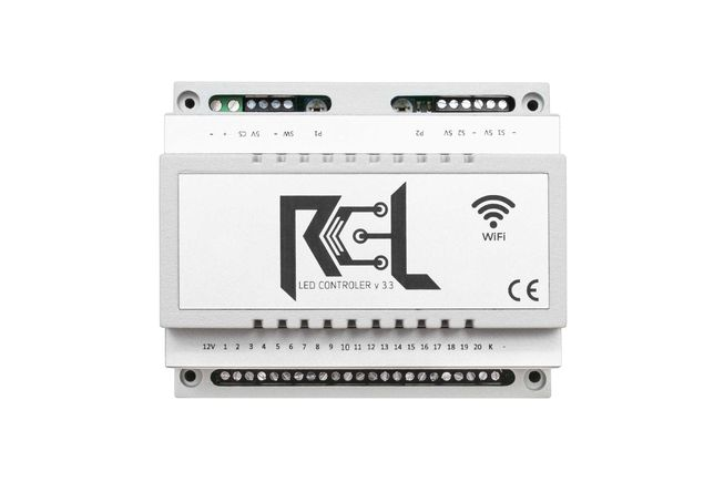 Sterownik schodowy RCL-LED EXCLUSIVE WI-FI
