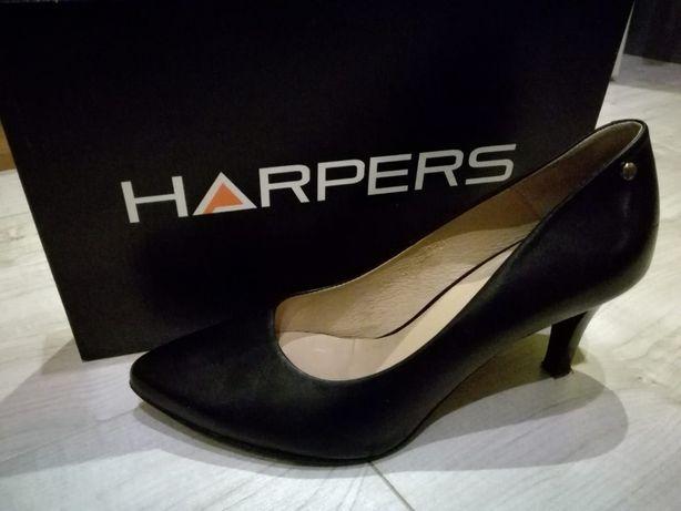 Czarne szpilki HARPERS