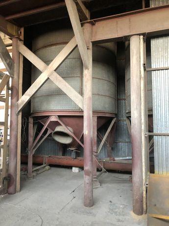 Zbiornik zbożowy silos Petkus 24 tony