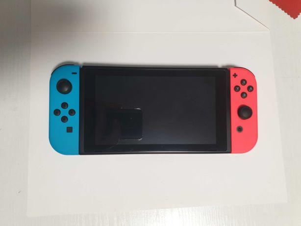 Konsola Nintendo Switch Joy-Con v2 Neon Red & Blue 2019