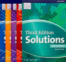 Solutions 3-rd edition
