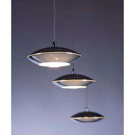 Lampa sufitowa zwis wisząca LED chrom TEBUTT 2702-17 Paul Neuhaus