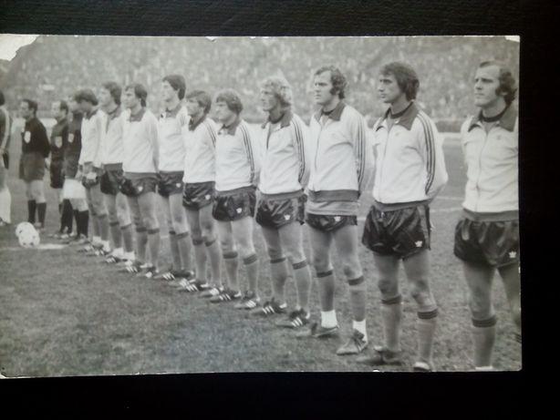Piłka nożna Drużyna : Holandia lata 1966-77 r. Unikat! 30 zł.