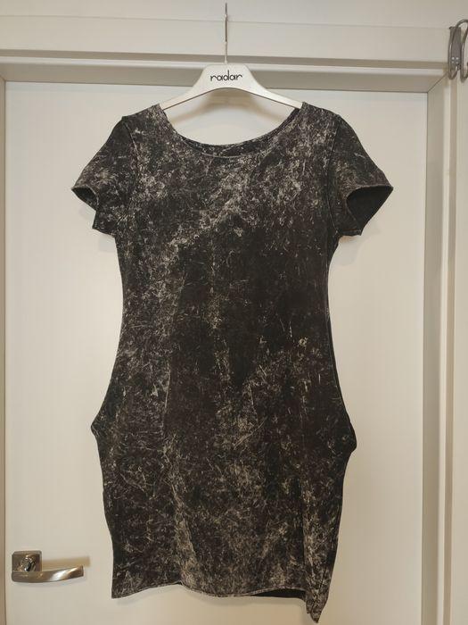 Ciemnoszara sukienka Oleśnica - image 1