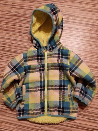 Bluza, kurtka Cool Club rozm. 80 ciepła, kratka