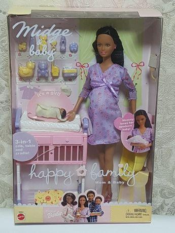 Редкая Куколка-Midge & Baby Happy Family 2002