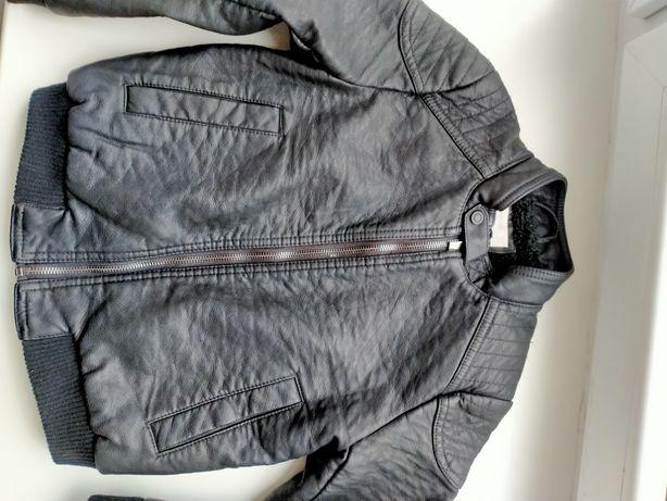 Куртка кожаная манго 122 см