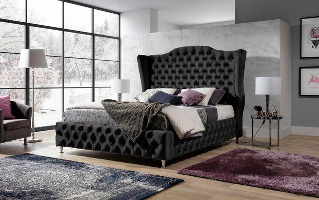 Łóżko tapicerowane BARON 180x200 do sypialni