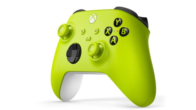 Comando Xbox  series X eletric volt NOVO